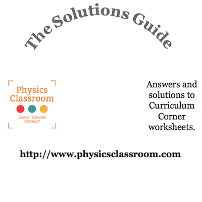 Friction worksheet answers physics classroom