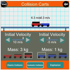 Ngss Physics Momentum Inelastic Collisions